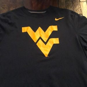 West Virginia youth Nike dri-fit t shirt